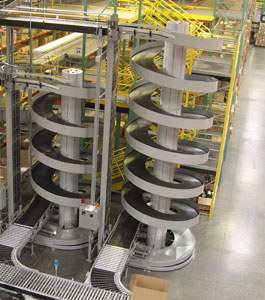 Ryson Multiple Entry High Capacity Spiral operating in a west coast distribution center