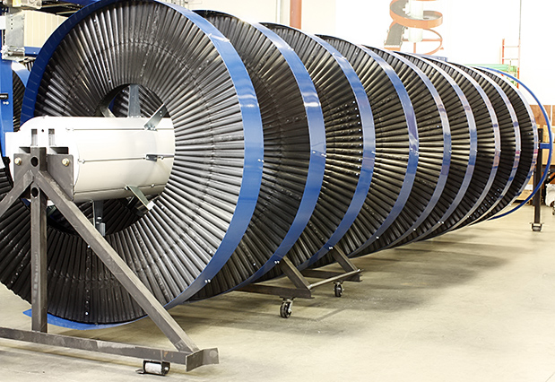 Tall High Capacity Spiral Conveyor
