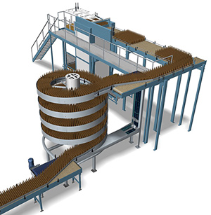 Ryson Spirals for Food and Beverage Applications