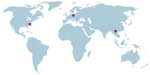 Ryson International world map