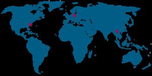 Ryson International world map