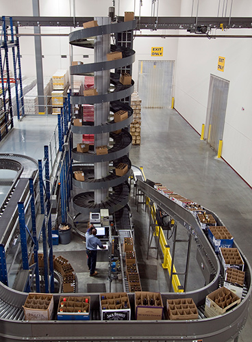 Ryson High Capacity Spiral at a Distribution Center
