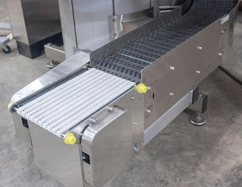 Micro Pitch Conveyor with The Narrow Trak