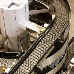 10 Inch Ryson Mass Flow Vertical Spiral Conveyor