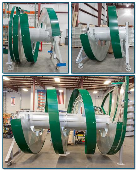 Model 1700-600 2-piece-spiral