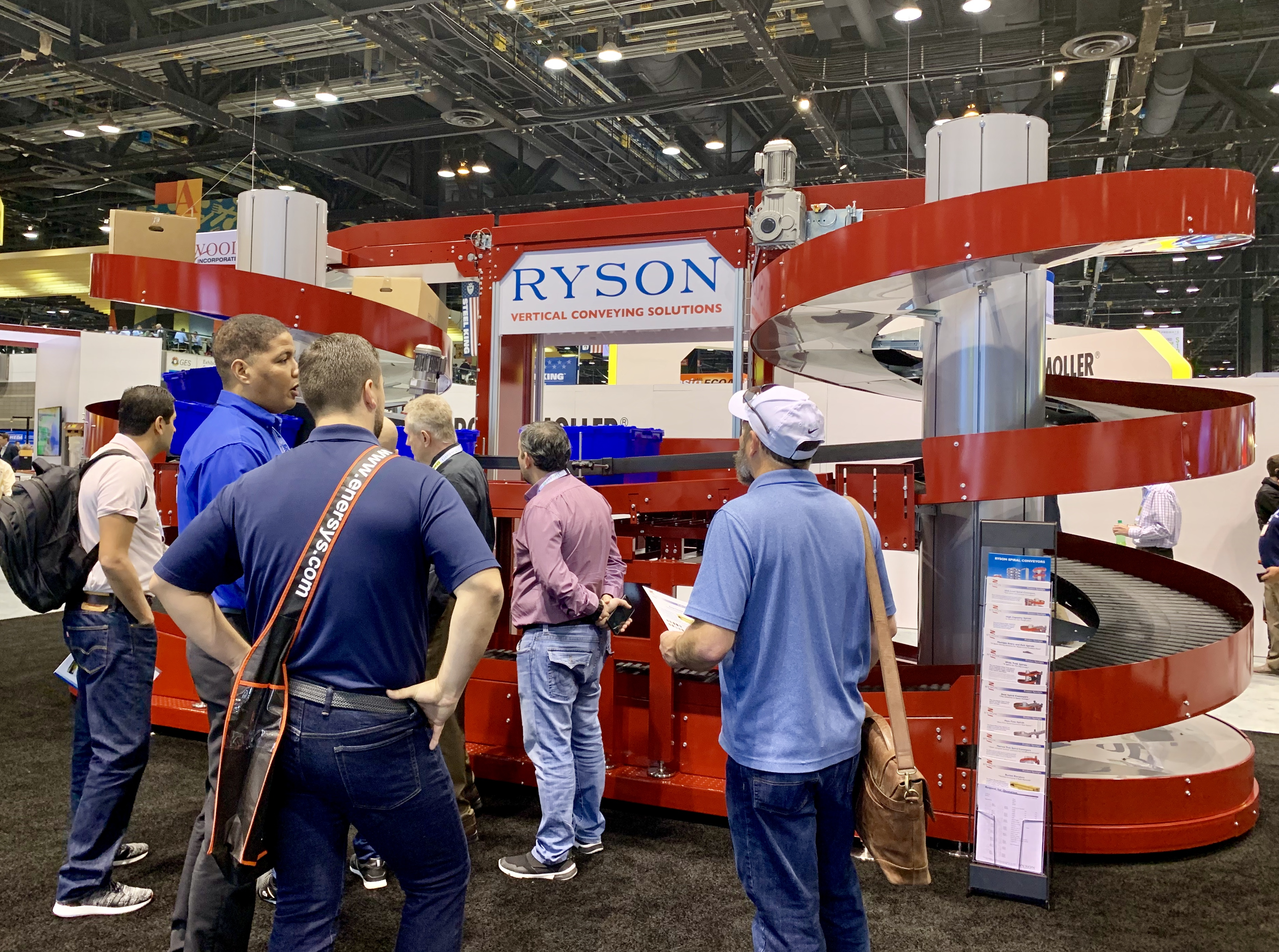 Ryson is at Promat This week