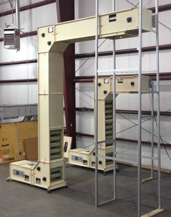 Ryson Bucket Elevators going to a Processing Facility