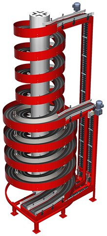 Ryson Dual Spiral Conveyor