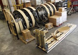Ryson Dual Track Spiral Conveyor Shipping