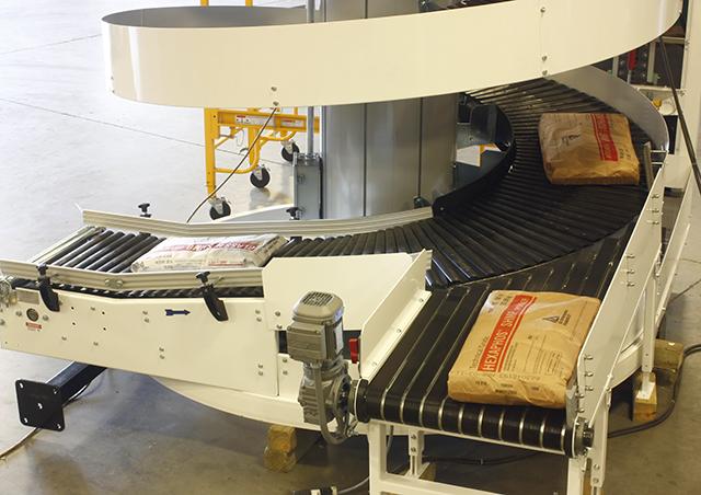 Heavy Duty Multi Infeed Spiral Conveyor