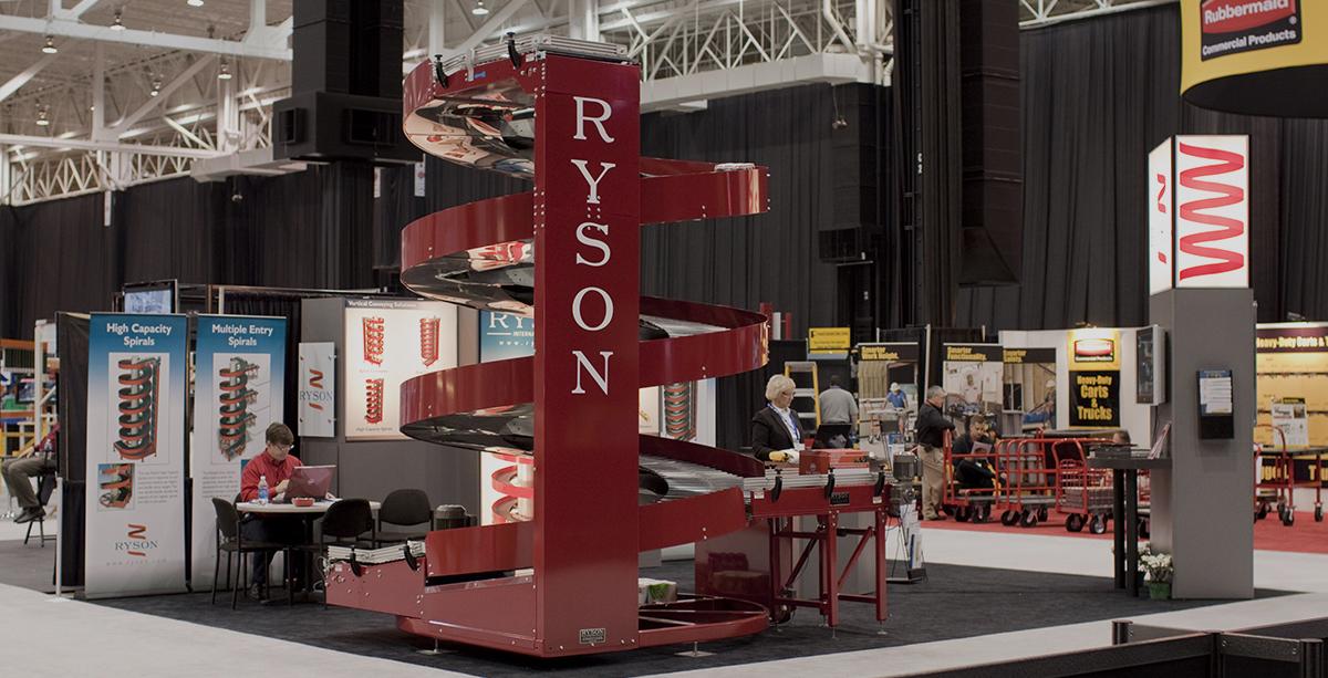 Ryson Spiral Conveyor at Booth at NA2010