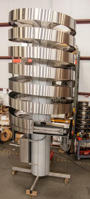 Ryson Narrow Trak Spiral aids in Tight Egress Installation