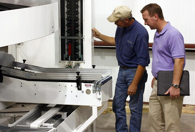 Spiral Conveyor Factory Acceptance Tests