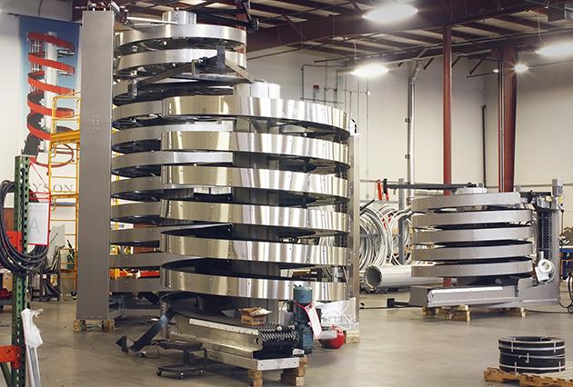 High Capacity Mass Flow Spirals In Shop