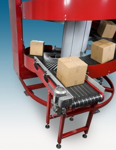 High Capacity Sprial Conveyors with multiple=