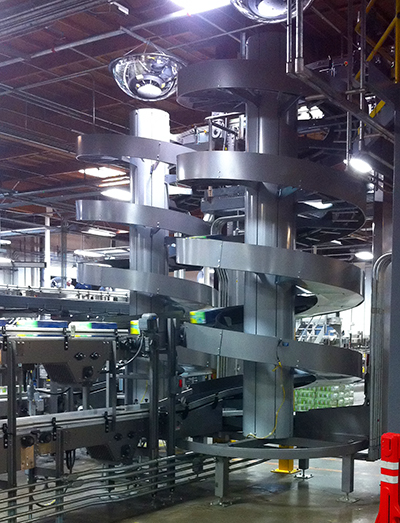Ryson Multiple Infeed Spiral Conveyor