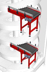 Ryson multi-infeed induction conveyor