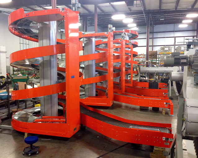 Ryson Vertical Conveyors for Pick Modules