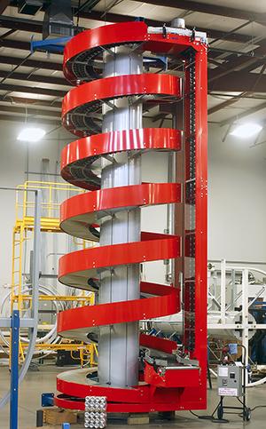 Red Ryson Spiral Conveyor