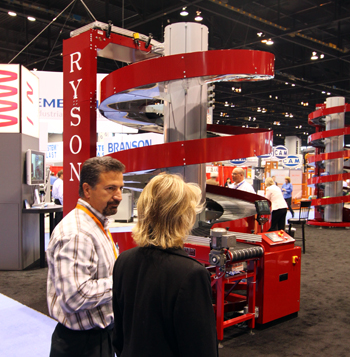 Ryson Multi Entry Spiral at Pack Expo