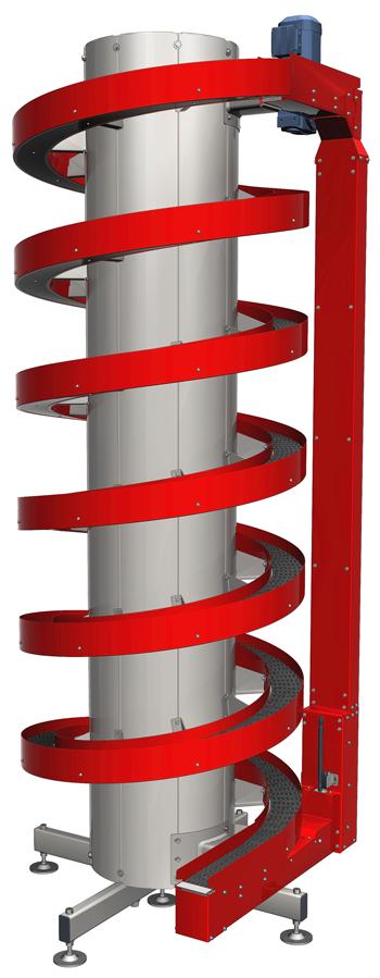 Ryson Narrow Track Vertical Spiral Conveyor