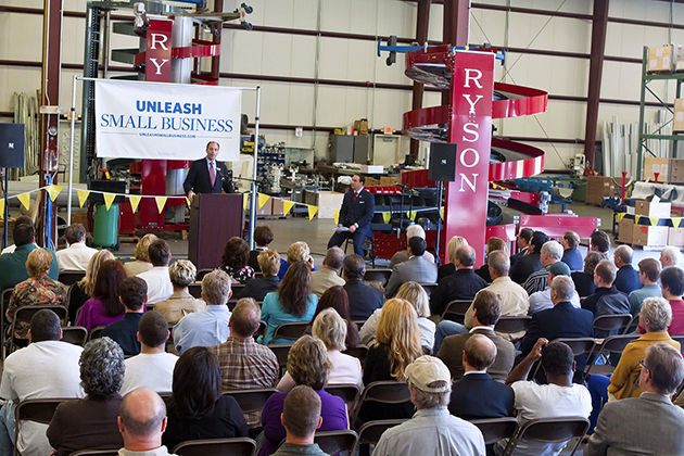Ryson Hosts an Unleash Small Business Forum