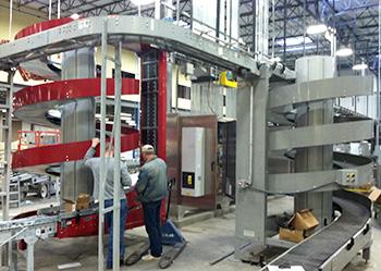 Ryson Spirals Being Installed at Sweetwater Brewing in Atlanta