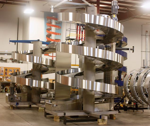 Ryson Stainless Steel High Capacity Washdown Spirals