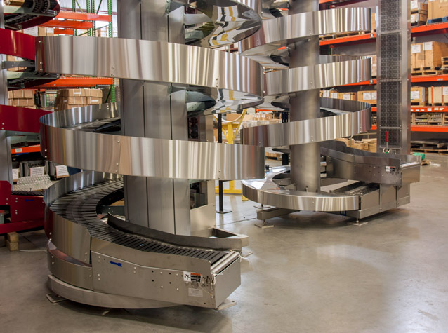 Ryson Stainless Steel Spiral Conveyors