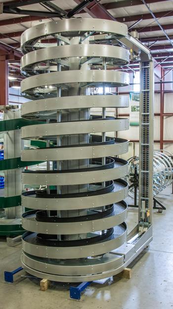 Tall Ryson Mass Flow Spiral