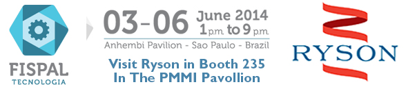 Ryson will be at FISPAL in Brazil