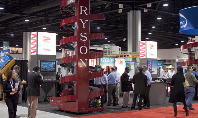 Ryson Spiral Conveyors at Modex 2012