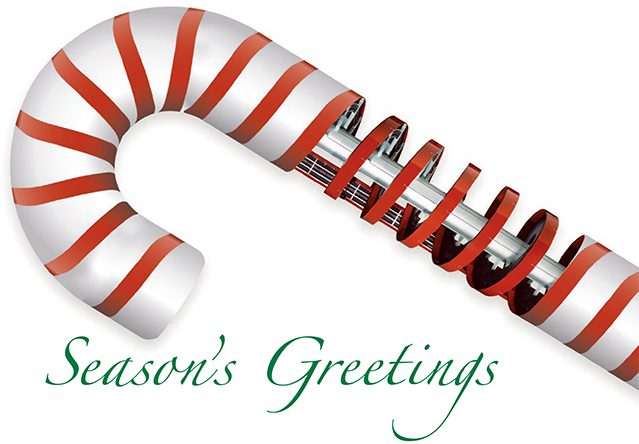 Ryson Spiral Holiday Candy Cane