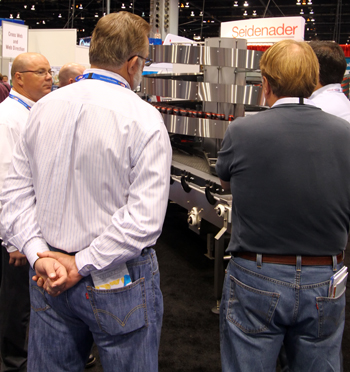Ryson Mass Flow Spiral Conveyor at Pack Expo