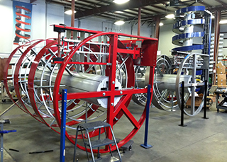 Every Ryson Spiral Conveyor is Made To Order to Customer Application Requirements