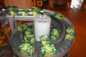 Ryson Spiral Conveyor at Moosehead Plant in Canada