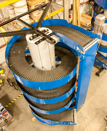 Ryson offers many spiral configurations