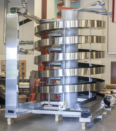 New Mass Flow Model 2100-400 can handle taller items in mass.