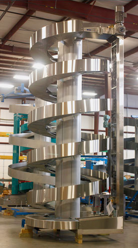 Ryson Stainless Steel Ryson Vertical Conveying