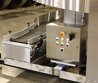 Stainless Hybrid Spiral Control Panel