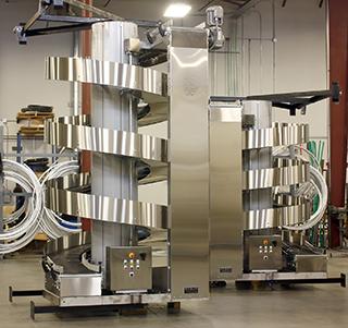 Stainless Steel Ryson Hybrid Spiral Conveyor