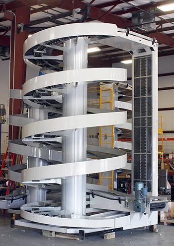 Ryson Reconfigure Spiral Conveyor