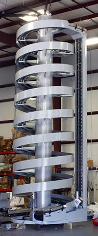 Tall Ryson High Capacity Spiral Conveyor