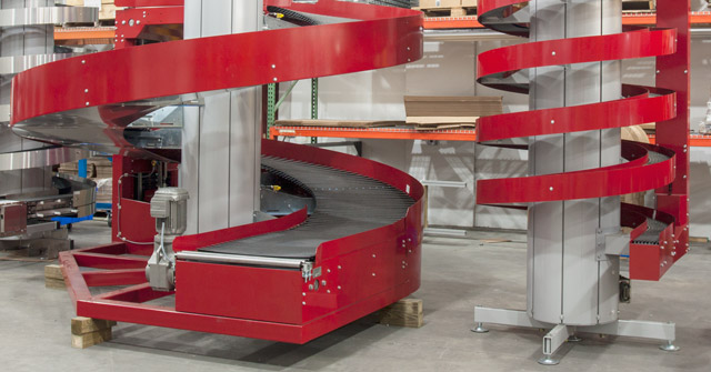 Ryson Vertical Conveyors big and small
