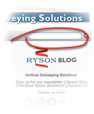 Ryson Blog Search Box