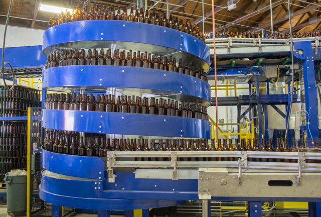 Ryson Mass Flow used for bulk depalletizing