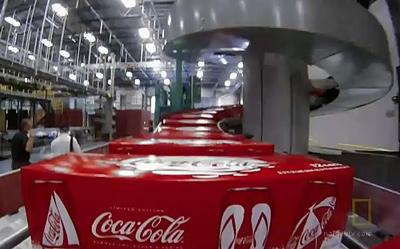 Ryson Spiral Conveyor at Coca-Cola Bottling Plant