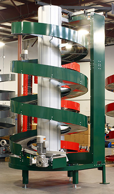 Ryson Spiral Conveyors being fast track Manufactured
