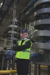 Ryson Spiral Lift in Canadian Beverage Packaging Article
