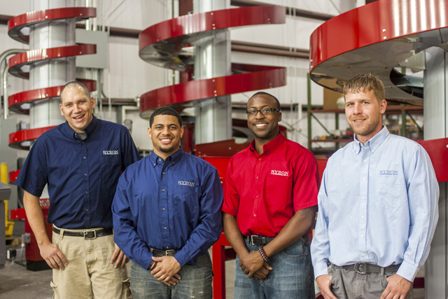 The Ryson Service Team announce 4 more of our manufacturing service technicians become PMMI Certified Trainers.
